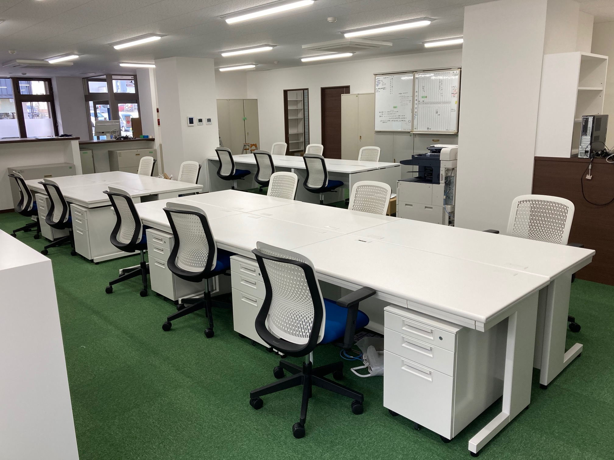 オフィス移転に伴うオフィスレイアウト設計